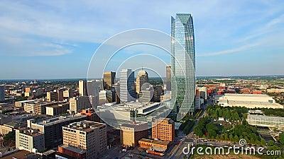Luftvideo von Oklahoma City
