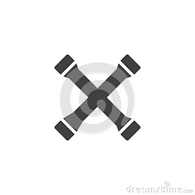 Free Lug Wrench Tool Vector Icon Stock Images - 117283634