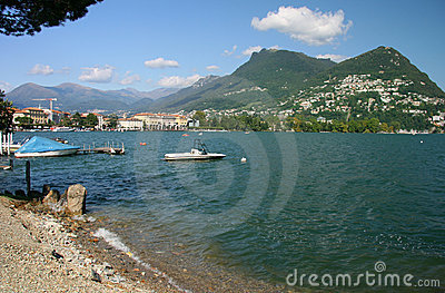 Lugano view - Switzerland