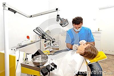 Lugar de trabajo del dentista