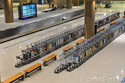 Luggage barrow Editorial Image