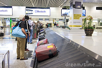 Luggage Carousel Editorial Stock Image