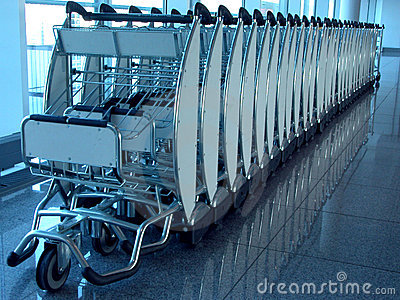 Luggage carrier device.
