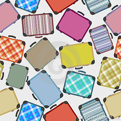 Luggages pattern