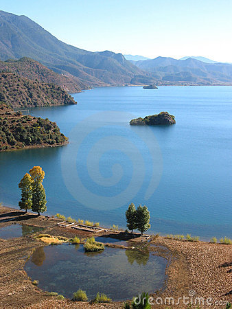 Free Lugu Lake, China Stock Photo - 4360640