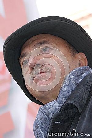 Luigi Angeletti , italian UIL union leader Editorial Image