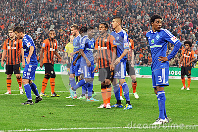 Luiz Adriano reveals the secret sign mate Editorial Photo