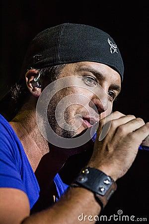 Luke Bryan in Concert Editorial Image