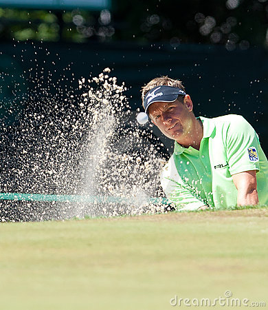 Luke Donald at the 2011 US Open Editorial Stock Image