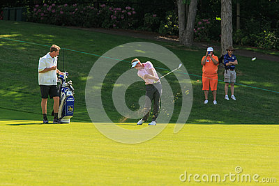 Luke Donald at the Memorial Editorial Image