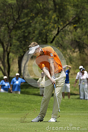 Luke Donald - Fairway Shot Editorial Image