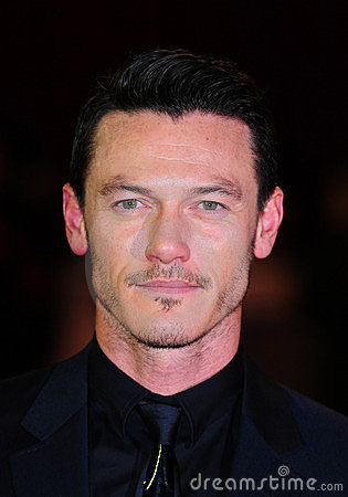 Luke Evans Editorial Stock Image