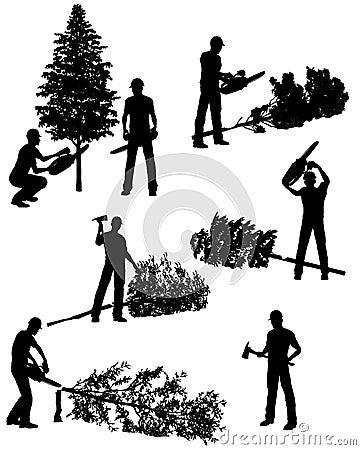 Free Lumberjack Royalty Free Stock Image - 13946676