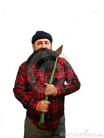 Free Lumberjack Royalty Free Stock Photography - 2737417
