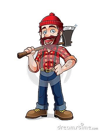 Free Lumberjack Stock Images - 44341284