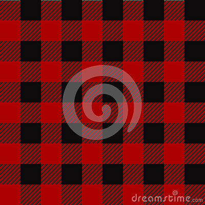 Free Lumberjack Plaid Pattern. Seamless Vector Background. Stock Image - 82182201