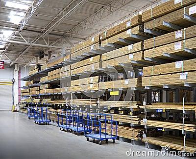 Lumberyard interior