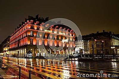 Lumbrera del hotel, París