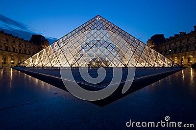 Lumbrera, París, Francia Foto de archivo editorial