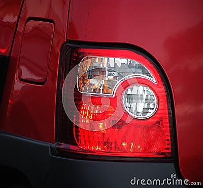 Lumières de frein arrière