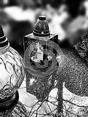 lumi re de bougie regard artistique en noir et blanc photo stock image 53357481. Black Bedroom Furniture Sets. Home Design Ideas
