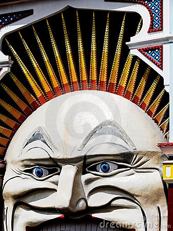 Luna Park Editorial Image