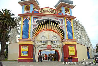 Luna park Editorial Stock Image
