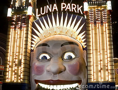 Luna Park, Sydney, Australia Editorial Image