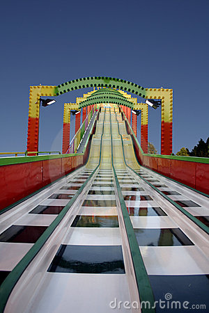 Free Luna Park Toboggan Royalty Free Stock Photo - 9309385