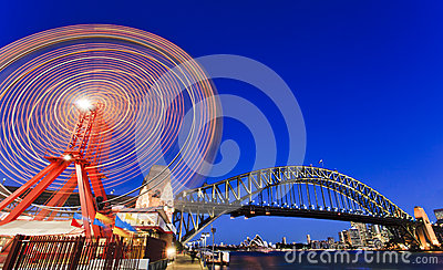 Luna Park Wheel Bridge