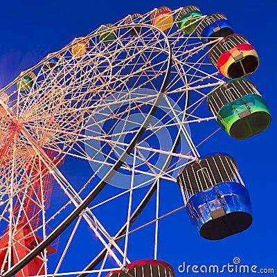 Luna park Wheel crop