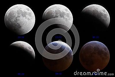 Lunar eclipse 3-4 March 2007