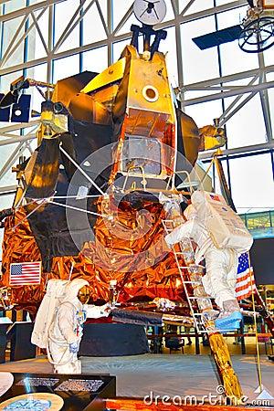 Lunar Module Display Editorial Photo