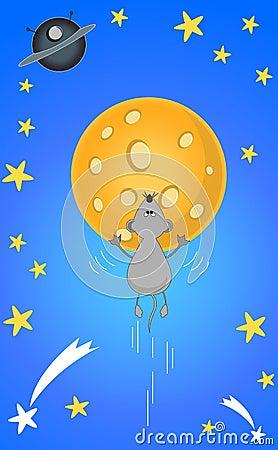 Lunar mouse