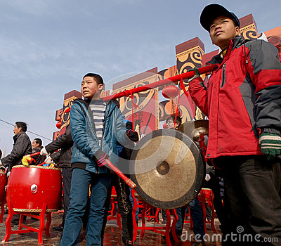 The Lunar New Year Celebration In 2013 Royalty Free Stock Photo - Image: 29473665