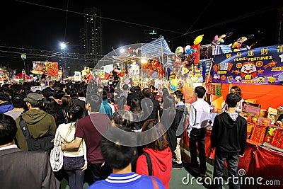 Lunar New Year Fair Hong Kong 2012 Editorial Photography