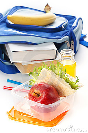 Free Lunch Box Royalty Free Stock Images - 21770479