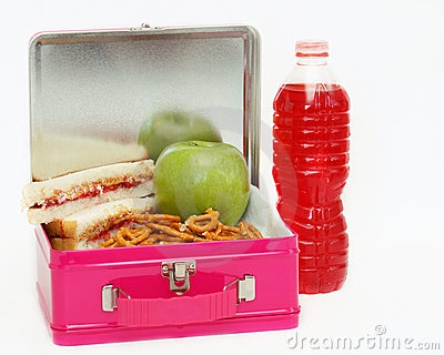 Lunchbox lunch - pink