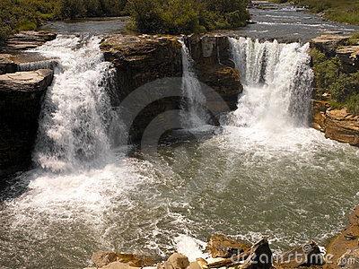 Lundbreak Falls - Alberta - Canada