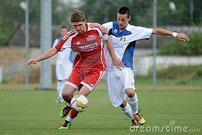 Luneburg - Brescia soccer game Editorial Photography