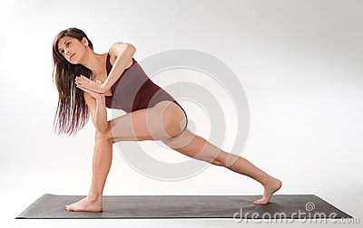 Lunge Twist Pose