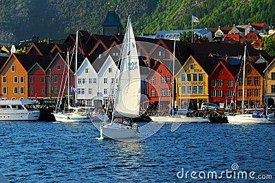 Lungomare di Bergen, Norvegia