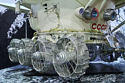Lunokhod 1 moon vehicle Editorial Image