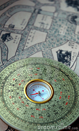 Luopan compass