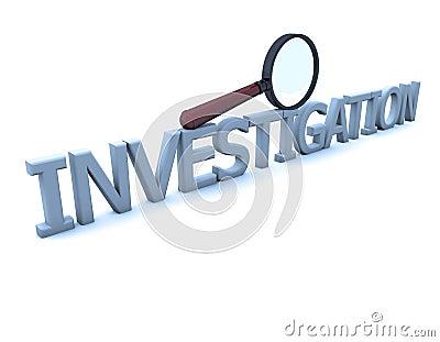 Lupa e investigação