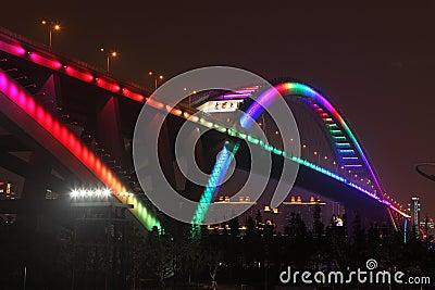 Lupu Bridge Editorial Image