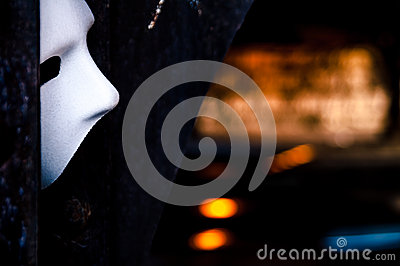 Lurking in the Shadows - Phantom of the Opera Mask