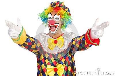 lustiger clown stockbilder bild 33135414. Black Bedroom Furniture Sets. Home Design Ideas
