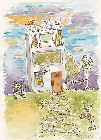 Lustiges Haus