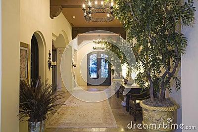 lustre dans le couloir d 39 entr e la maison photos libres de droits image 33913628. Black Bedroom Furniture Sets. Home Design Ideas